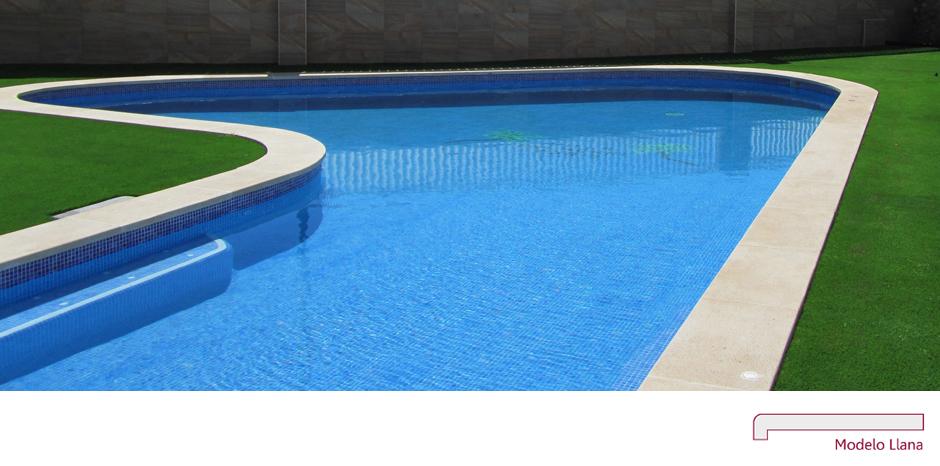 Coronaci n en piedra artificial coronaci n piscina - Piedra artificial barcelona ...